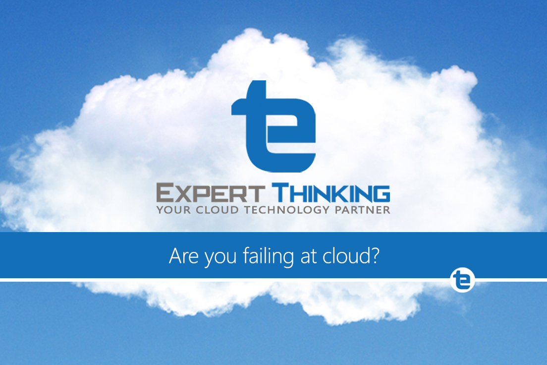 Are you are failing at cloud?