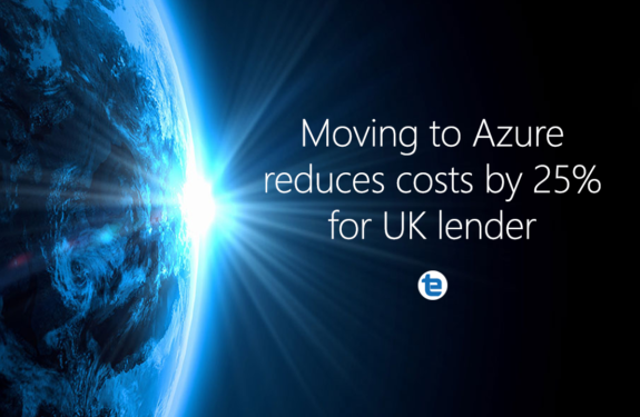 Moving to Azure data services reduces costs by 25% for leading UK lender